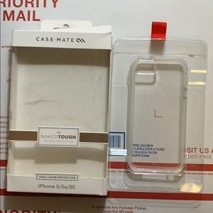 Casemate IPhone 5/5s/SE naked tough case